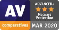 "Testing body AV-Comparatives awards G DATA Internet Security the ""ADVANCED+"" certification."